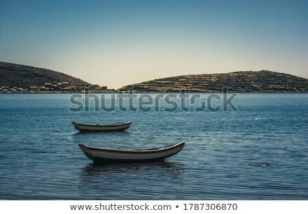 док озеро острове высокий высота Сток-фото © boggy