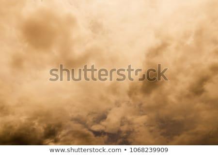 çöl fırtına bulutlar Arizona dağ Stok fotoğraf © diomedes66