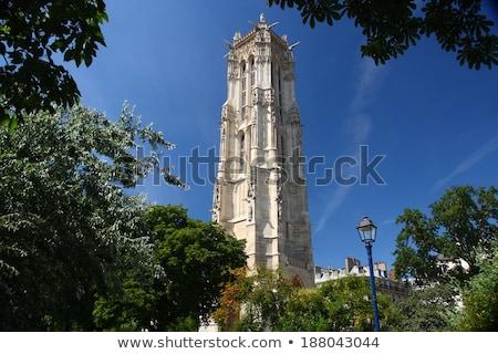 Saint-Jacques Tower, Paris Stock photo © borisb17