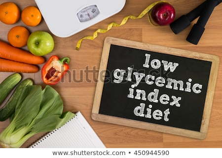 Healthy Low GI Food for Diabetics Stock photo © marilyna
