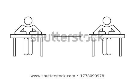 Child Seat Chair Icon Vector Outline Illustration Stock photo © pikepicture