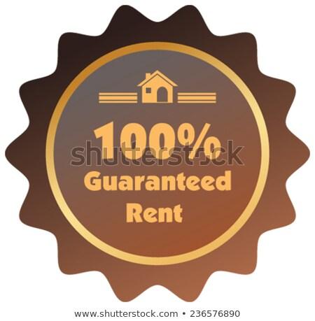 Casa alquilar garantizar casa dinero propiedad Foto stock © AndreyPopov