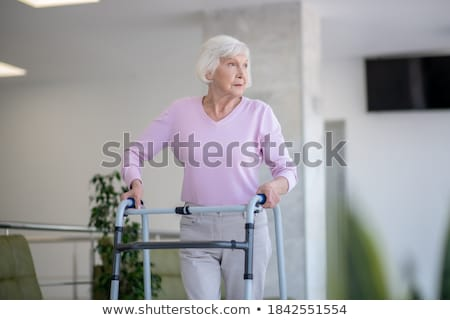 Elderly woman Stock photo © elenaphoto