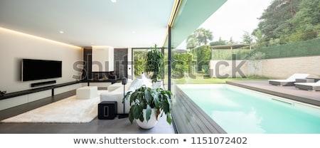 Pool inside the house Stock photo © artvitdiz