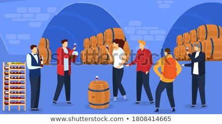 wine degustation Stock photo © smithore
