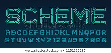 vector · textuur · schets · stijl · mogelijkheden · kleuren - stockfoto © orson