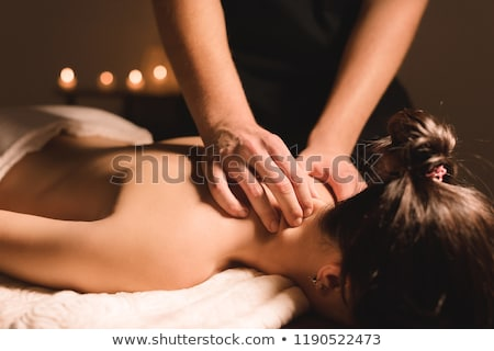 Therapeutic Massage Stock photo © lisafx