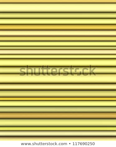 backdrop 3d render of shaded tubes in different yellow stock photo © melvin07