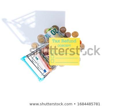 Stock photo: Bold Taxes