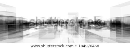 abstract · metal · costruzione · design · finestra - foto d'archivio © ixstudio