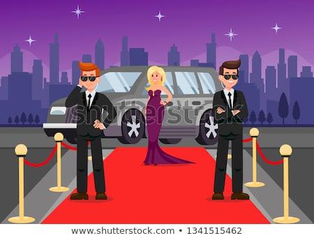 bodyguard car vector Stock photo © hayaship