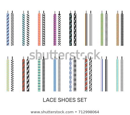 Stock fotó: Csipke · textúra · cipő · alkotóelem · terv · sport