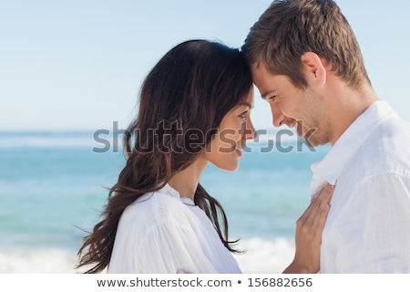 Attractive couple embracing stock photo © get4net