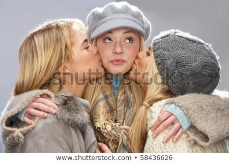 cabeça · ombros · retrato · família · adolescente - foto stock © monkey_business