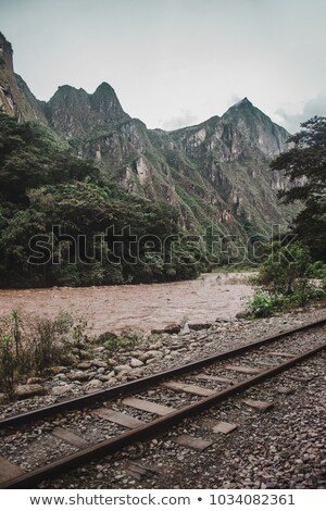 Yol Machu Picchu tepe dağlar Stok fotoğraf © xura