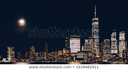 financial · district · Manhattan · görmek · gökdelenler · özgürlük · kulesi · yeni - stok fotoğraf © phakimata