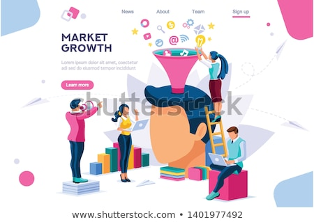 Stock fotó: Sebességváltó · üzlet · metaforák · vektor · kép · munka