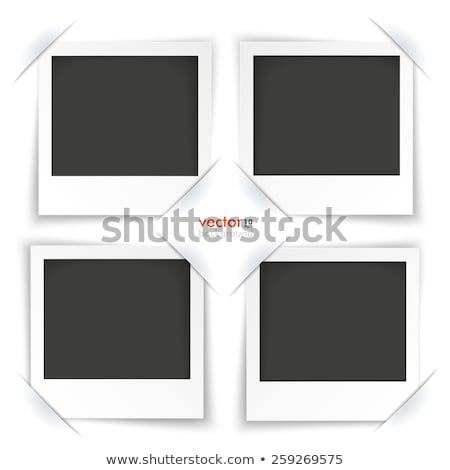 Convert Instant Photo Frame White Background Stock photo © limbi007