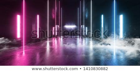 3D · футуристический · коридор · зале · современных · служба - Сток-фото © wxin