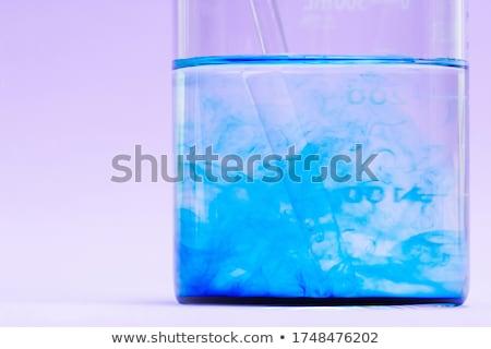 chemical glass flask closeup  Stock photo © OleksandrO
