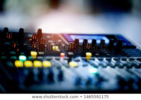 equipment for record Stock photo © 26kot