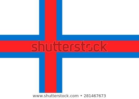 ストックフォト: フラグ · 島々 · 小 · 3次元の男 · 背景