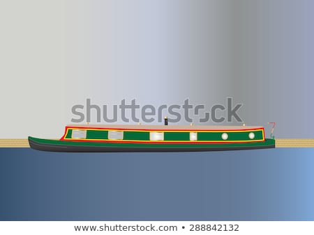 barge on the canal  Stock photo © chris2766