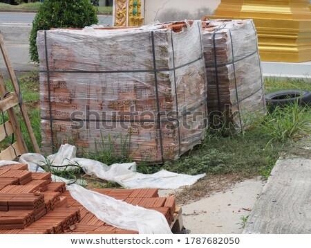 çok konteyner sanayi fabrika endüstriyel Stok fotoğraf © user_9323633