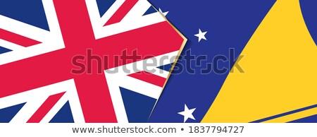 United Kingdom and Tokelau Flags  Stock photo © Istanbul2009