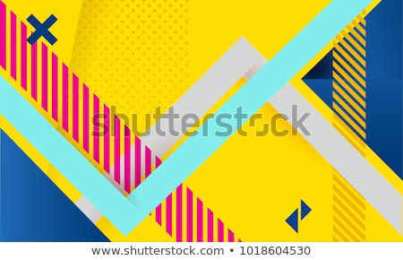 Abstract striped triangle backdrop Stock photo © gladiolus