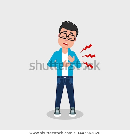 lung pain stock photo © lightsource
