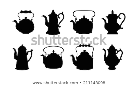 teapot sign stock photo © ayaxmr