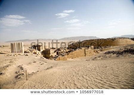 старые разорение Йемен Сток-фото © meinzahn
