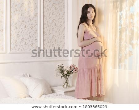 Pregnant girl stock photo © pedromonteiro