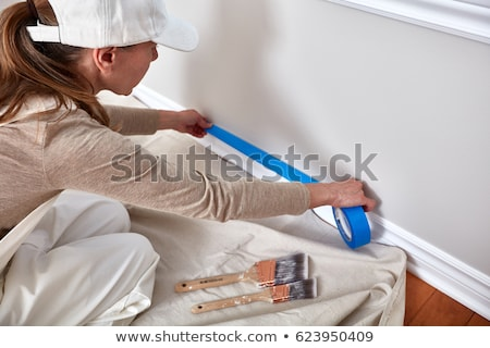 Painting Tools and Outfit  Stock photo © Spectral