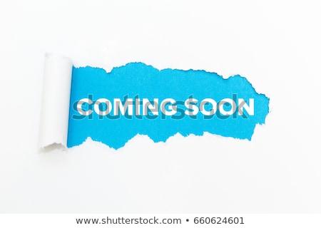 coming soon word stock photo © fuzzbones0