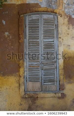 rot · venster · full · frame · tonen · detail · oude - stockfoto © meinzahn