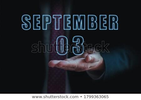 3rd September Stock photo © Oakozhan