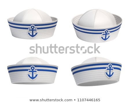 A blue hat with an anchor Stock photo © bluering