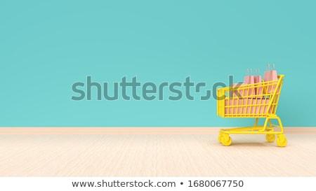 ショッピングカート プレゼント クレジットカード ショッピング ストックフォト © compuinfoto