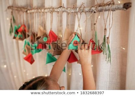 colorful christmas calender Stock photo © SArts
