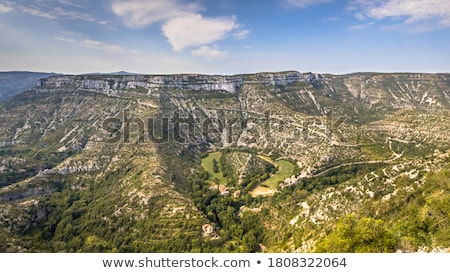Navacelles in southern France Stock photo © LianeM