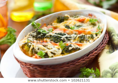 рыбы · растительное · продовольствие · сыра · обеда · морковь - Сток-фото © Digifoodstock