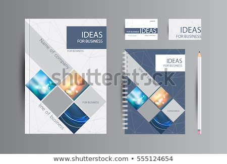 forms on business folder in catalog stock photo © tashatuvango