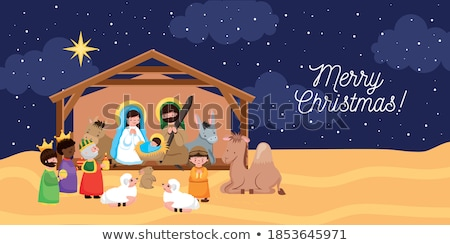 Christmas Crib Stock photo © homydesign