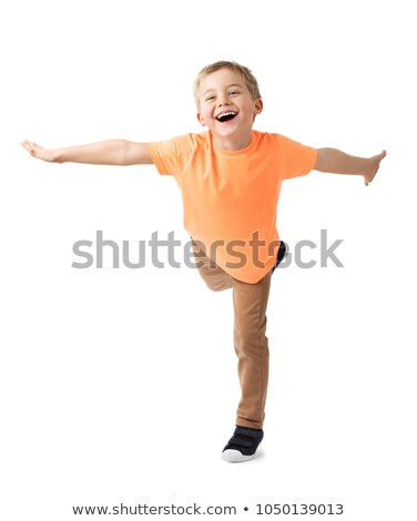 Boy Balancing Stock photo © IS2