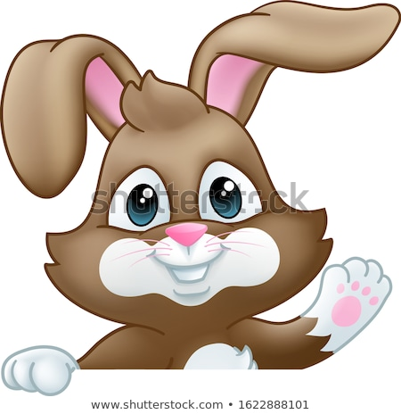 Easter Bunny konijn illustratie Pasen Stockfoto © Krisdog