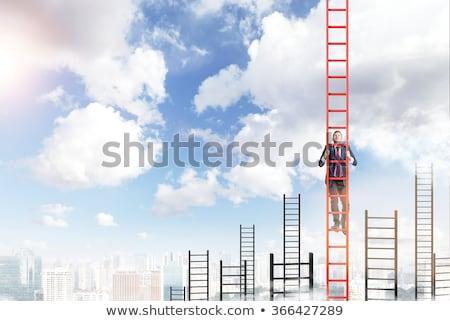 endless city career ladder stock photo © rogistok