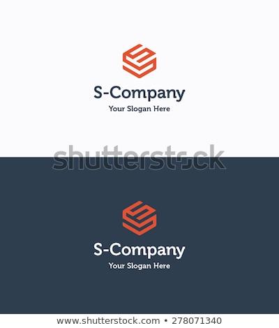 soyut · geometrik · üçgen · küp · kutu · logo - stok fotoğraf © taufik_al_amin