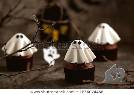 Muffin halloween illustratie benen angst horror Stockfoto © adrenalina